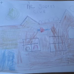 Drawing by George - Aged 4